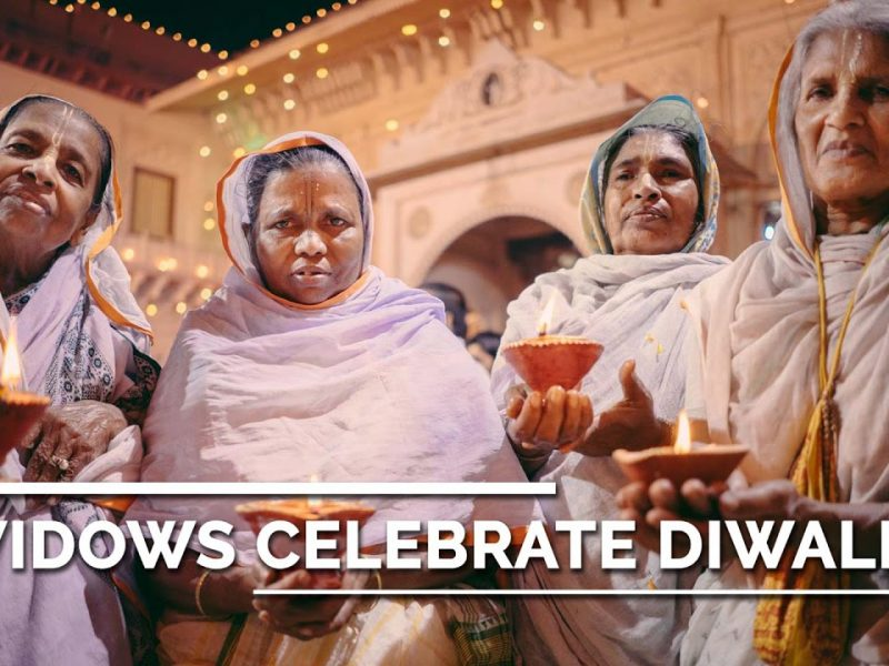 Widows Celebrate Diwali – Our First Story from India