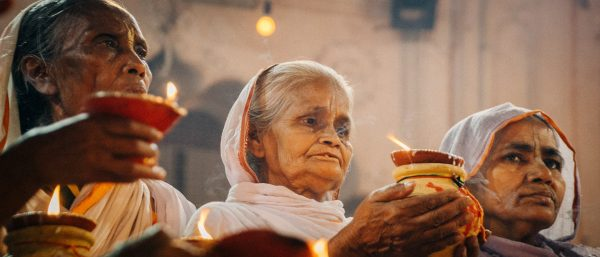 Widows Celebrate Diwali